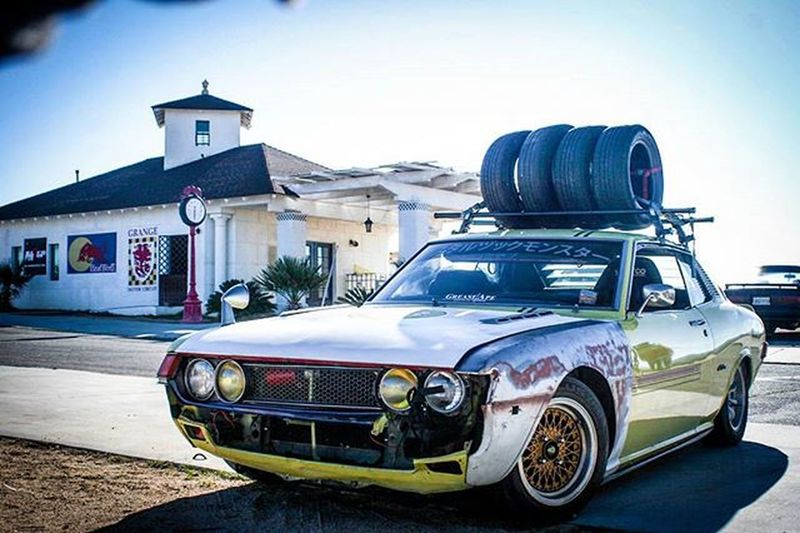 One of my most recent edits. This one is from Grange just working on some photo editing with adobe Lightroom Toyota Celica Tirerack Oldschool Photo Headlights Fotodlux