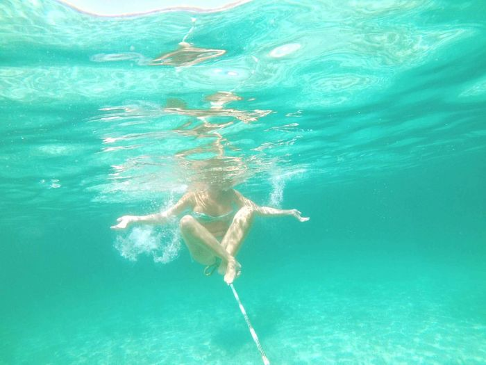 The Magic Mission Blue Magical Moments Yoga Underwater Summer Lifestyles Weekend Activities Mallorca💙 Summer2016 Freedom