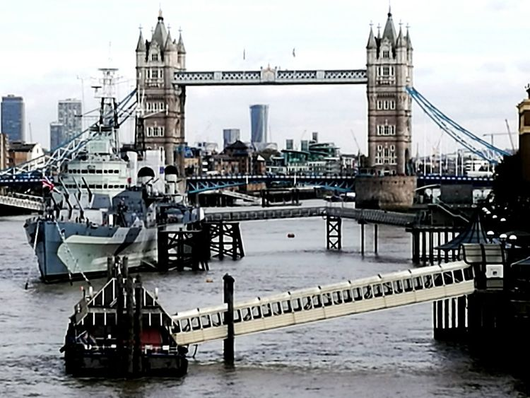 London Lifestyle Bridge - Man Made Structure Business Finance And Industry Urban Skyline Nautical Vessel Cityscape My Year My View