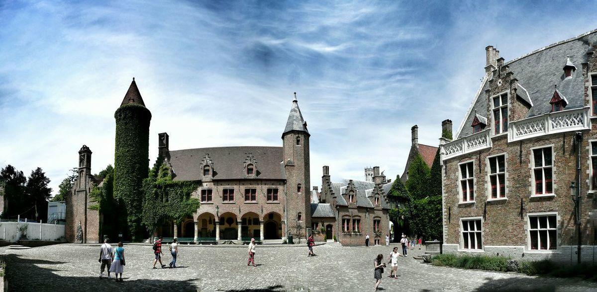 Gruuthuse, Ghent, Belgium Belgium. Belgique. Belgie. Belgien. Etc. Belgium Ghent Architecture Flemish Art Flemish Architecture