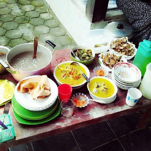 """Hasil masakan hari ini """"khas sulawesi"""" Kapurung Buburmanado Indonesiatimur Indonesiatengah"""