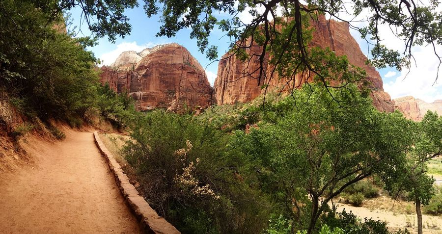 Views for days. Beautiful Zion National Park Utah Hiking Adventure Roadtrip Views