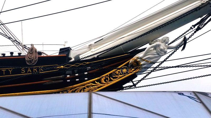 Cutty Sark Greenwich.  London Ships🚢 History Figurehead Nautical Theme No People Outdoors