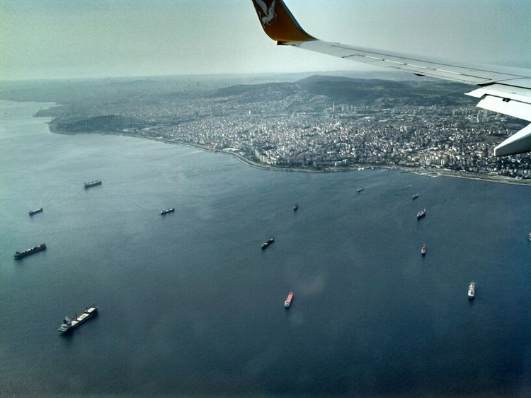 Istanbul Birdview From The Plain