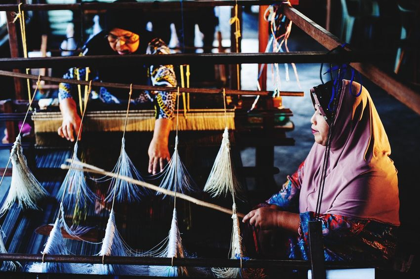 Weaving Art Of Songket The Photojournalist - 2015 EyeEm Awards The Traveler - 2015 EyeEm Awards EyeEm Malaysia Working Collected Community