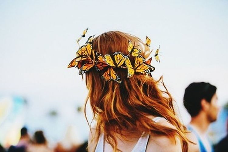 Beautiful Photo butterfly crown.. First Eyeem Photo