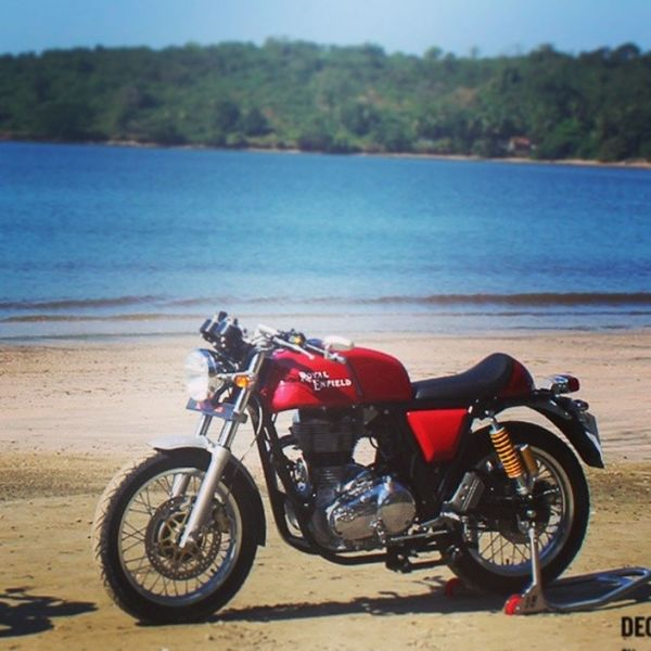 My dream bike Royalenfield Continentalgt Bike