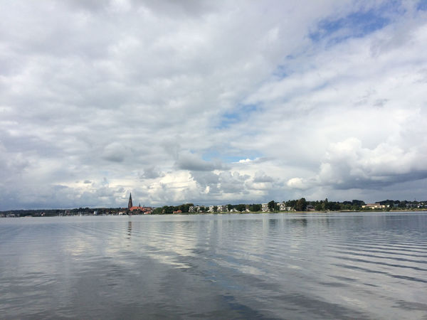 View at Schleswig over the Schlei Ostseefjord Schlei Schleswig Beauty In Nature Cloud - Sky Day Fjord Nature Nautical Vessel No People Outdoors Scenics Sky Travel Destinations Water Waterfront