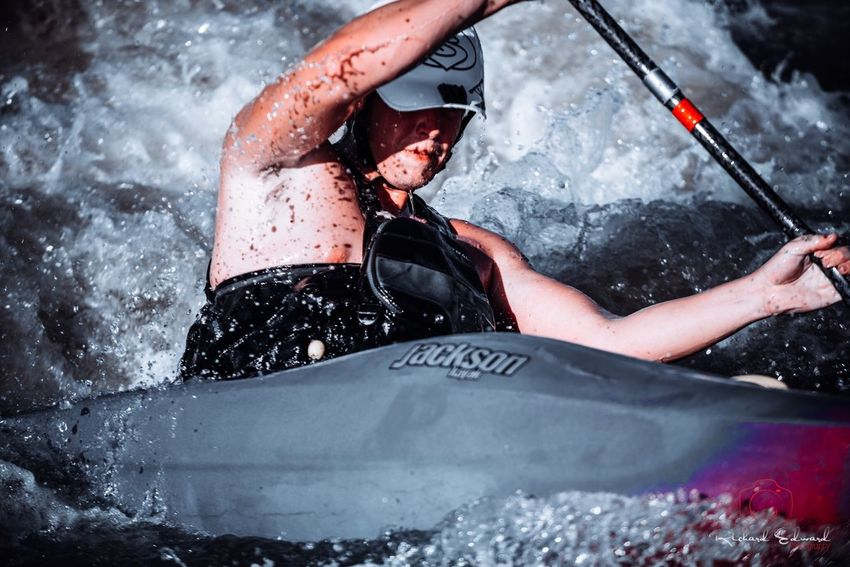 Nikonphotography Nikon Sport One Person Lifestyles Real People Nature Adult Motion Water Extreme Sports Adventure Aquatic Sport Splashing Determination