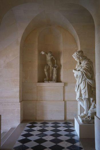 Sculptures in