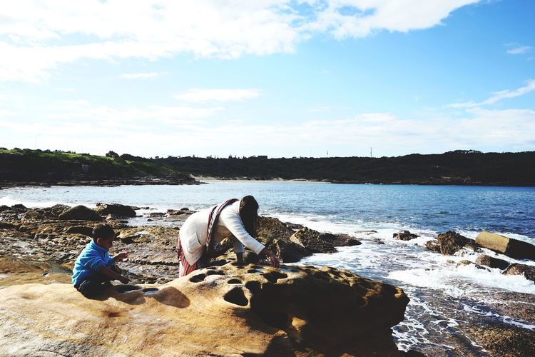Playing at Bare Island, La Perouse. EEA3 - Sydney Open Edit