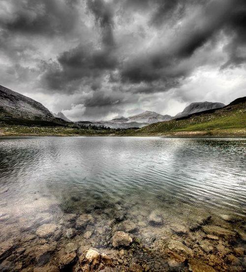 Dolomites, Italy Landscape Sennesfanesbraies Unesco