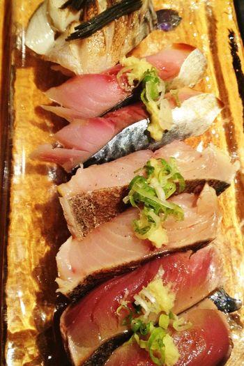 Gone fishin' Sushi Fish Taking Photos Food Porn