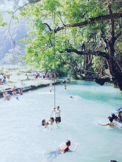 Trip In Laos Vangvieng Bluelagoon 다시 가고 싶다...♡