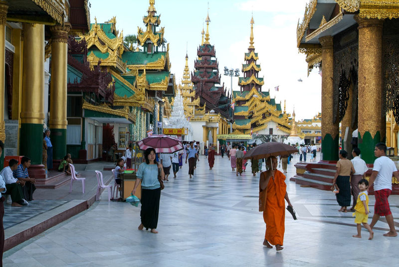 Pagoda Yangon Architecture Building Exterior Built Structure Burma Day Full Length Large Group Of People Lifestyles Men Myanmar Outdoors People Place Of Worship Real People Religion Shwedagon Sky Spirituality Walking Women