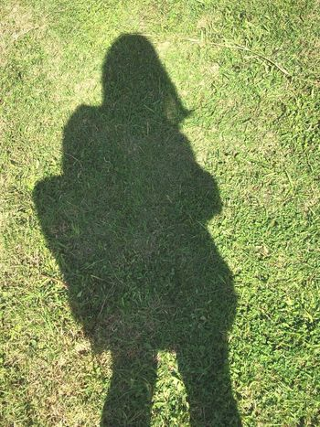 Men Low Section Togetherness Shadow Women Sunlight High Angle View Focus On Shadow Standing Grass