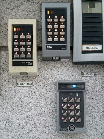 TRYCK HÄR Which one should I use? Code Lock Locks Liljeholmen Marievik Office Building