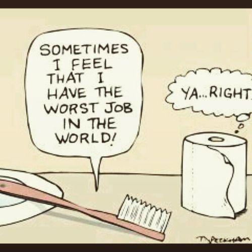 No hay que quejarnos tanto como el cepillo. 😉😂😂 Morning Quoteoftheday Nomehagancaso XD