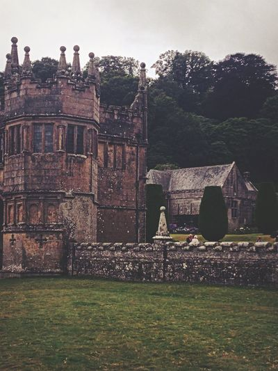 Castle Gatehouse Lanhydrock Old