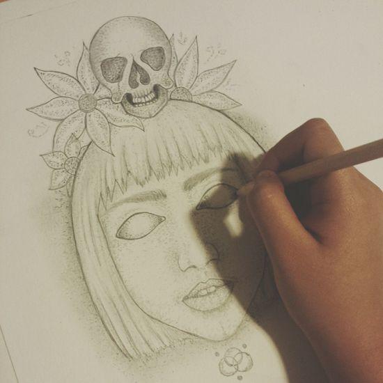 Drawing Art Inprogress Pencil Drawing