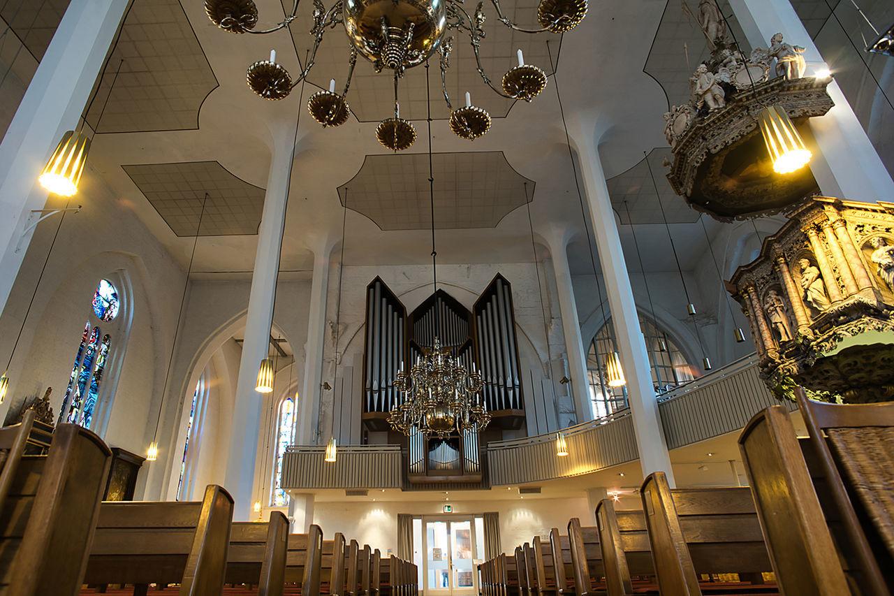 Nicolaikirche Church Kirche Architecture History Illuminated Indoors  Low Angle View Religion Spirituality Travel Destinations