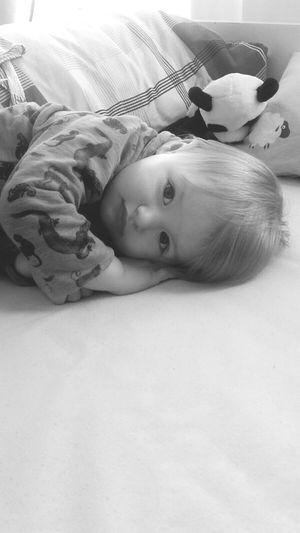 Lying Down Children Only Bedroom Childhood Sleeping Portrait Napping November2016 My Nephew Love My Family Love My Nephew Alexander Little Boy Blackandwhite Monochrome Portrait Eyes Are Soul Reflection