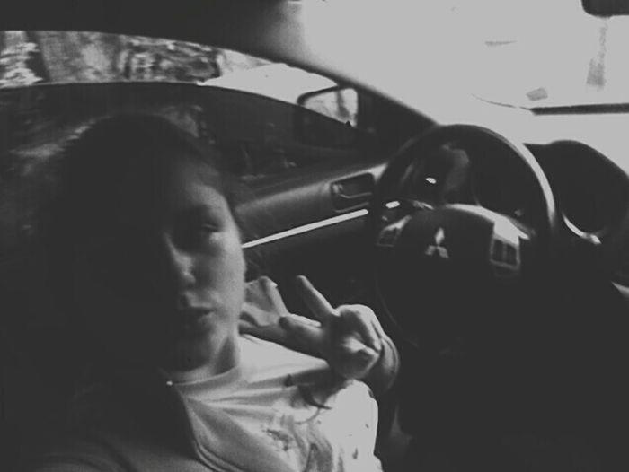 Car, taking photos