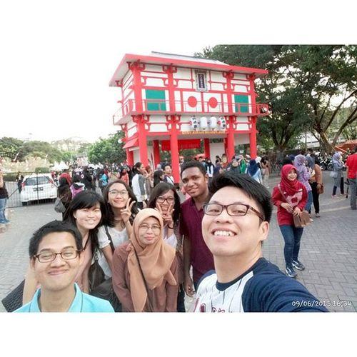 Je-Japan-an. Adam  Hadyan Silvia Izza Lindi Domi friends happiness Sekdilu39 Yogyakarta Japan Festival rizkytakki