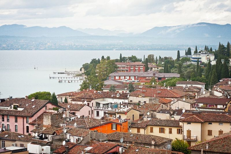 Italy Sirmione Lake Garda Lago Di Garda Garda Traveling Rooftops The Traveler - 2015 EyeEm Awards
