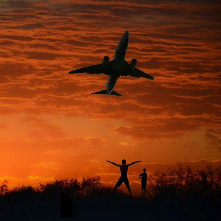 MIS PENSAMIENTOS VUELAN HACIA TI ... Travelling EyeEm Best Shots Sky_collection Sunsetporn