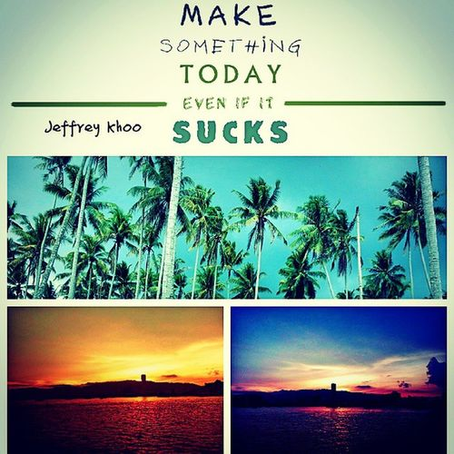 Anewdayhascome Happynewyear2015 Stayyoung Stayjoy Enjoy motivated meaningful makemyday relax landscape sucks prettyawesome coconuttree sea colourful