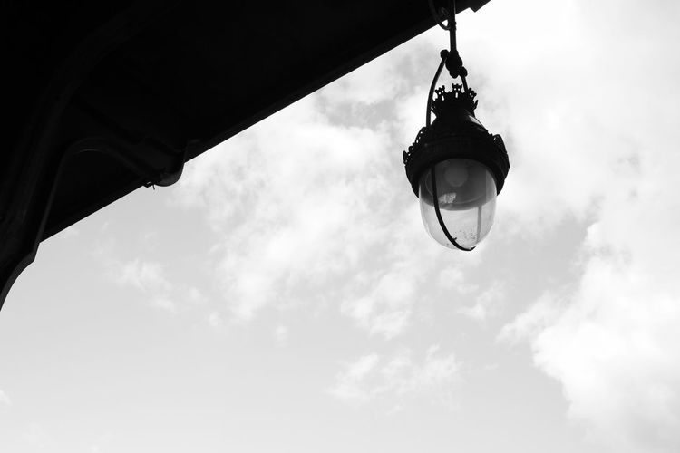 法国 巴黎 Paris Paris, France  路灯 Sky Cloud Cloud - Sky Light 路灯 Streetlight