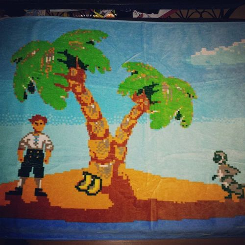 My new Towel is so awesome.... Monkeyisland Oldschoolgame Bestgameever