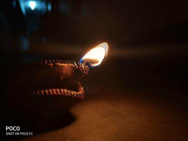 Lightlamp Hope Photographing Light And Shadow Refelections Timepass_click📷 Dark Theme Human Hand Illuminated Close-up Diya - Oil Lamp Burning Fire Lit Fire - Natural Phenomenon