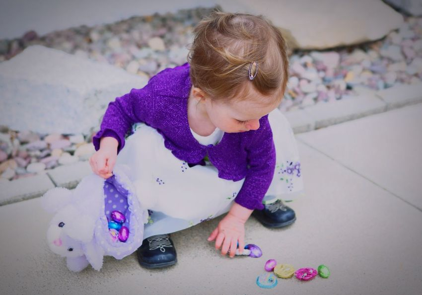 Easter Ready Easter Eggs Easter Hunt Toddler  Girl Bunny  Toy