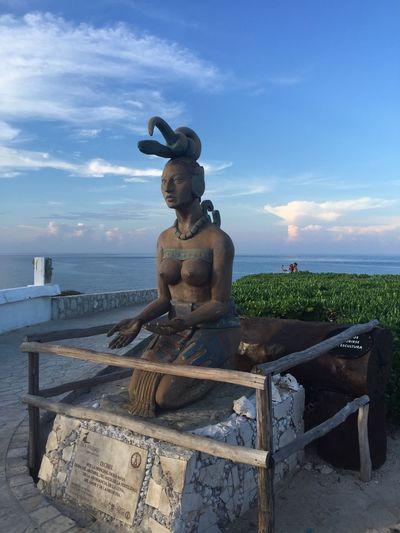 Statue Isla Mujeres Isla Mujeres Mexico