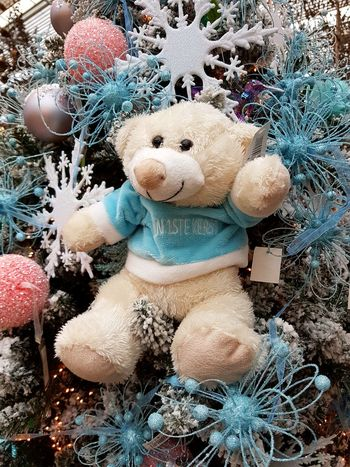 Human Representation No People Christmas Christmas Decoration Celebration Close-up Intratuin Indoors  Take Photos Having A Good Time Backgrounds Teddy Bear Teddy Bear 🐻 Teddybear Christmas Ornament Indoors  Day