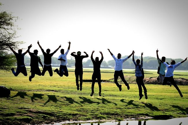 Happiness ♡ Life Colorful Life Photooftheday Jumpshot Jump Squad Canaon Amazing Place life is all about happiness and craziness 😊😋