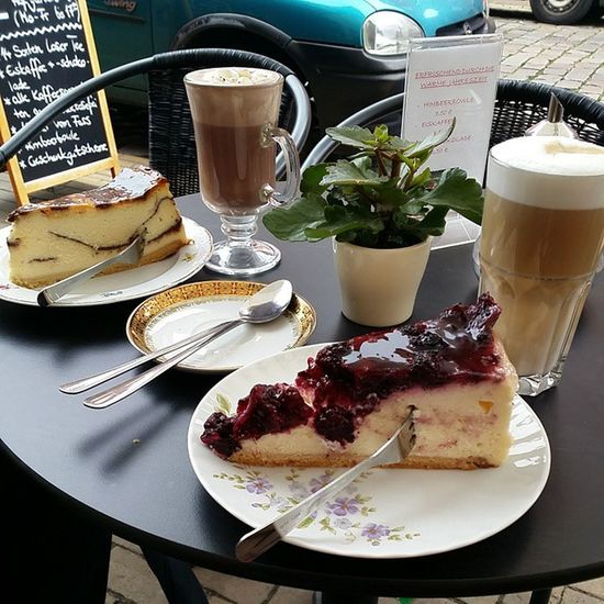 Käsekuchen in Potsdam Holländischesviertel Cafeguam