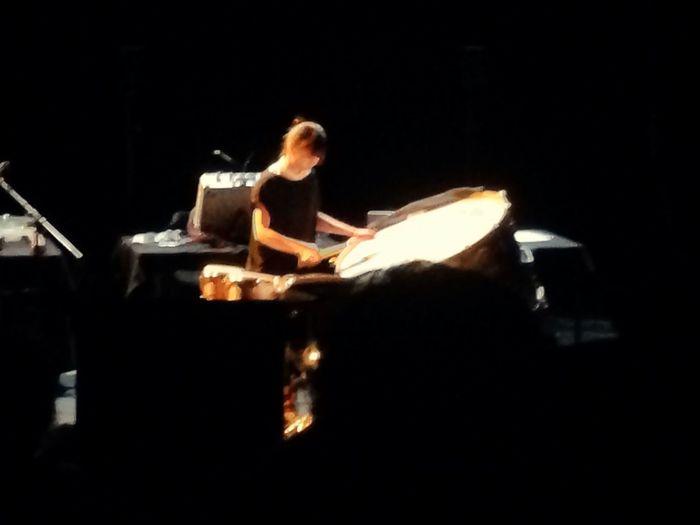 Mei performing Xenakis