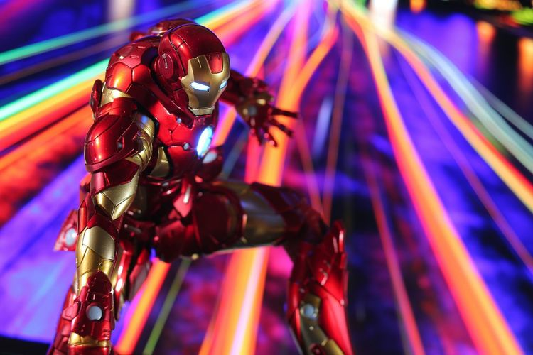 my favorite. Ironman Sen-ti-nel Figure Japan Toys