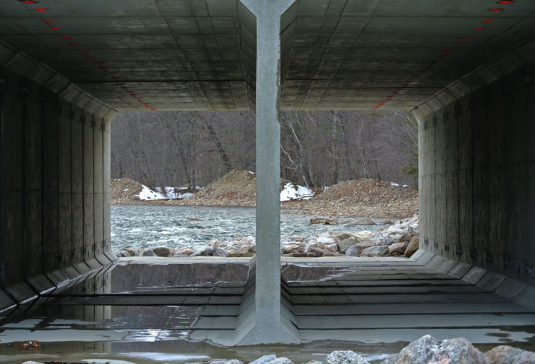 New Hampshire, USA Architectural Column Architecture Bridge - Man Made Structure Built Structure Day Indoors  Nature New Hampshire No People Underneath