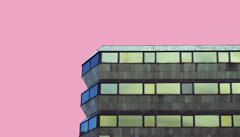 Berlin Czech Republic Nikon Pink Architecture Berlinphotography Building Exterior Built Structure City Clear Sky Close-up Day Discover Berlin Embassy Low Angle View Modern No People Outdoors Photography Pink Color Rosé Sky