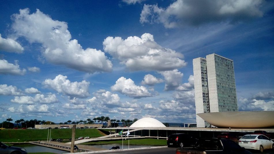 Brasília Congressonacional Df Cloud - Sky Travel Destinations Built Structure Architecture Business Finance And Industry Day Sky City