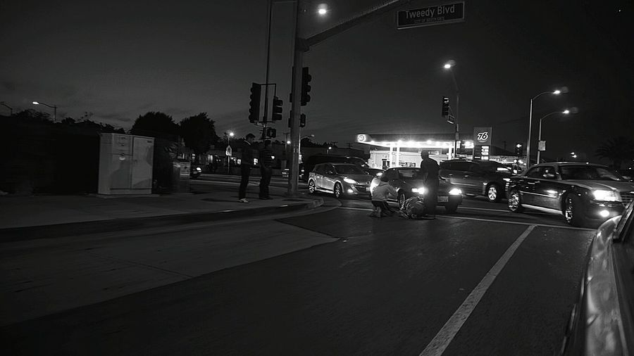 Some dude hit an old lady crossing the street. ... Taking Photos Check This Out Los Angeles, California TheWeekOnEyeEM The Human Condition Streetphotography Hitbycar
