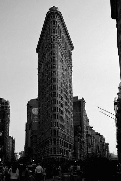 Flatiron Building Gramercy Blackandwhite NYC New York Majestic Battle Of The Cities