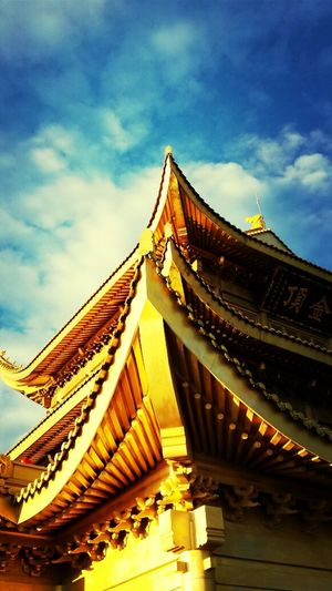 TheWorldNeedsMoreYellow Emei Mountain China Temple