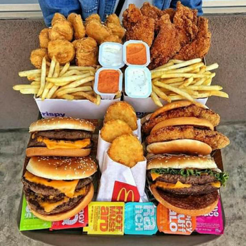 food is life Mcdonalds Humburger French Fries Sweet Food