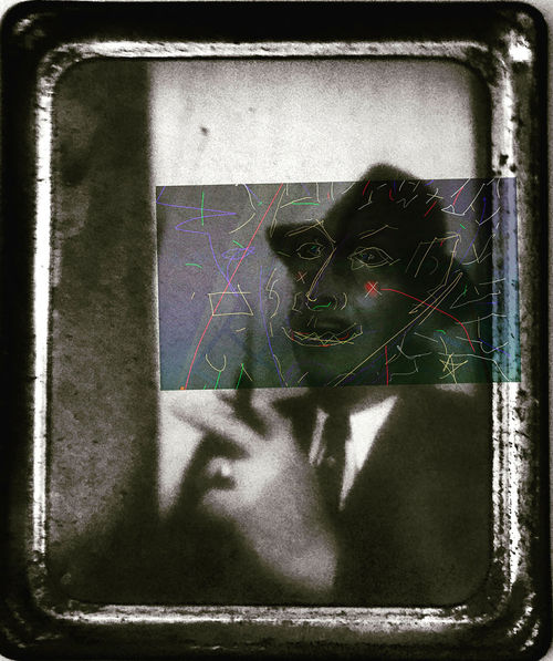 Tell Me How I Can Be Strong Black Color Cigarette Holder Close-up Digital Art Ornaments Victorian Colorful Digital Drawing Digital Painting Man In A Hat Man Smoking Old Photography
