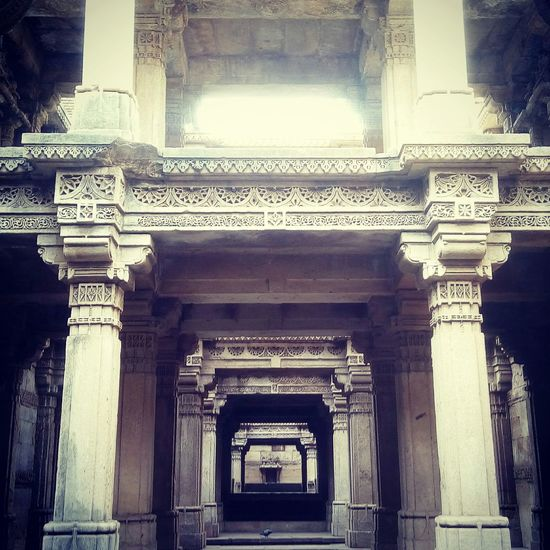 Adalaj Stepwell Heritage Mobile Photography Taking Photos First Eyeem Photo Travel Photography The Minimals (less Edit Juxt Photography)
